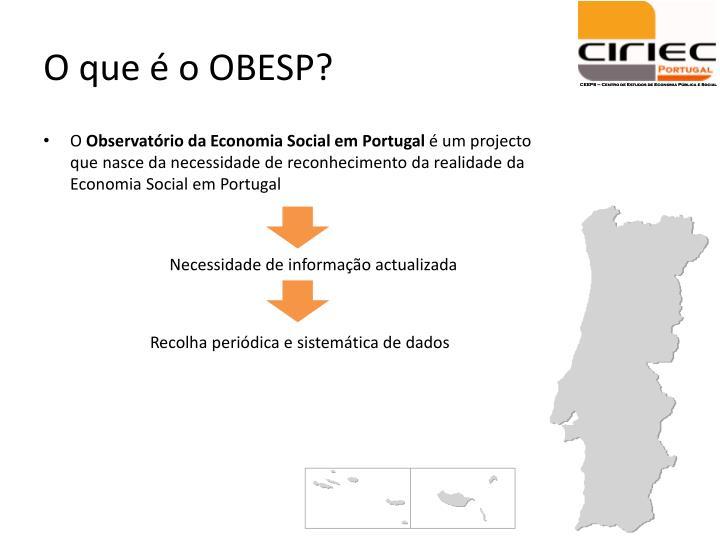 O que é o OBESP?