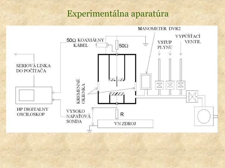 Experimentálna aparatúra