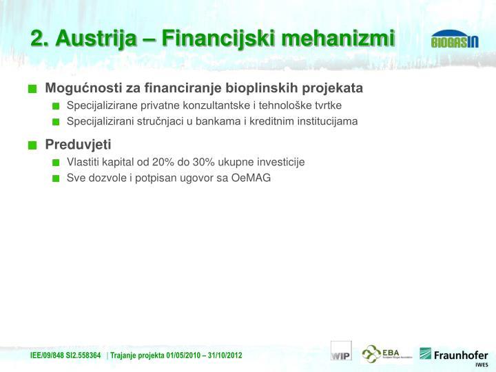 Mogućnosti za financiranje bioplinskih projekata