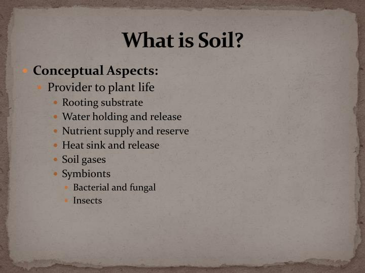 What is soil1