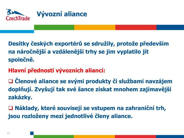 Vývozní aliance