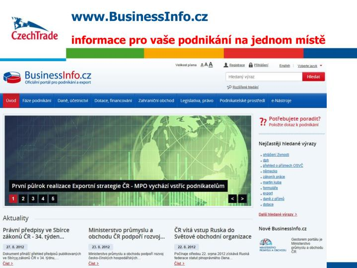 www.BusinessInfo.cz