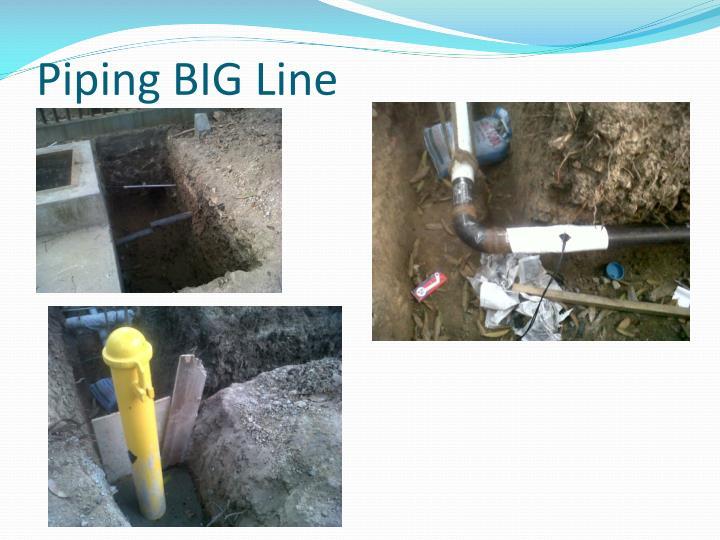 Piping BIG Line