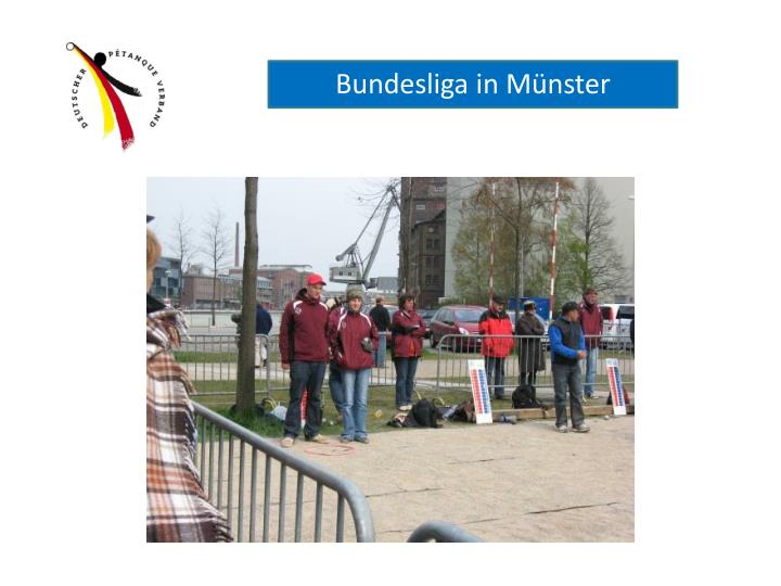 Bundesliga in Münster