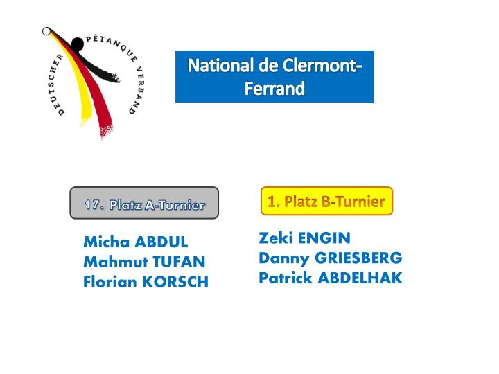 National de Clermont-Ferrand