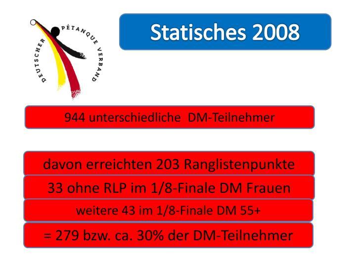 Statisches 2008