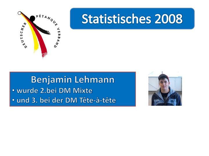 Statistisches 2008