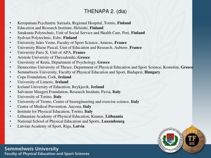 THENAPA 2. (dia)