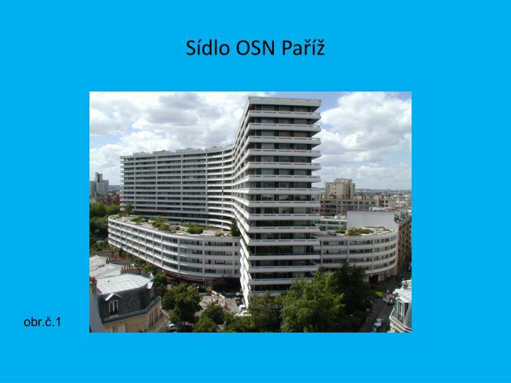 Sídlo OSN Paříž