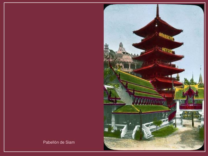 Pabellón de Siam