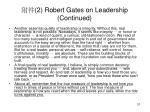 2 robert gates on leadership continued2