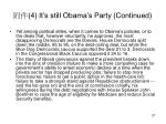 4 it s still obama s party continued