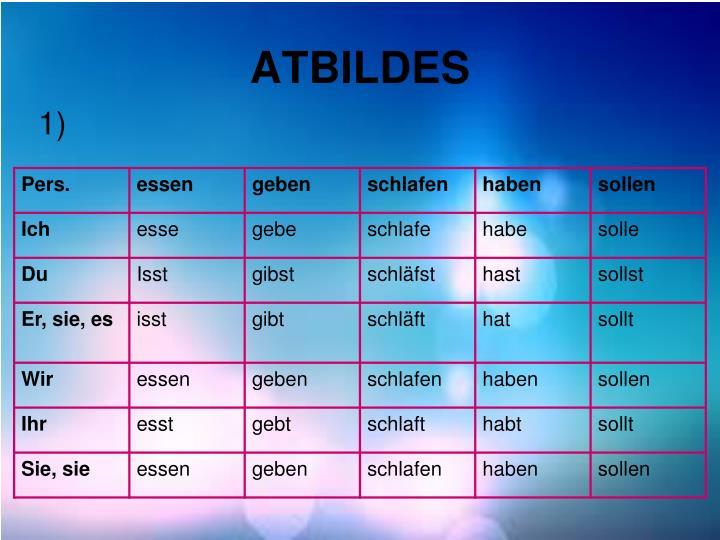 ATBILDES