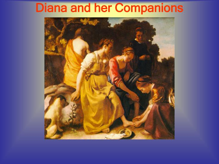 Diana and her Companions