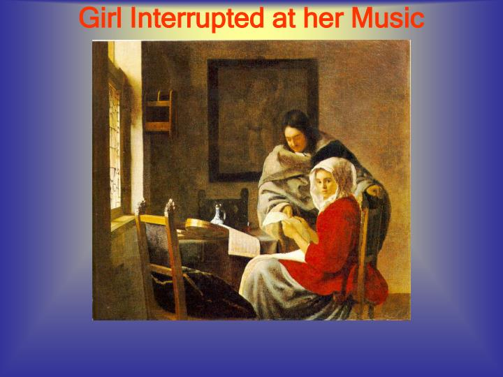 Girl Interrupted at her Music
