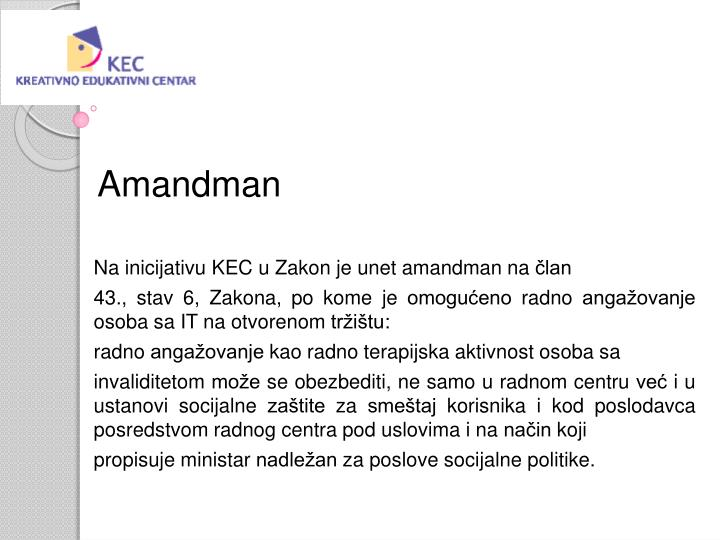 Amandman