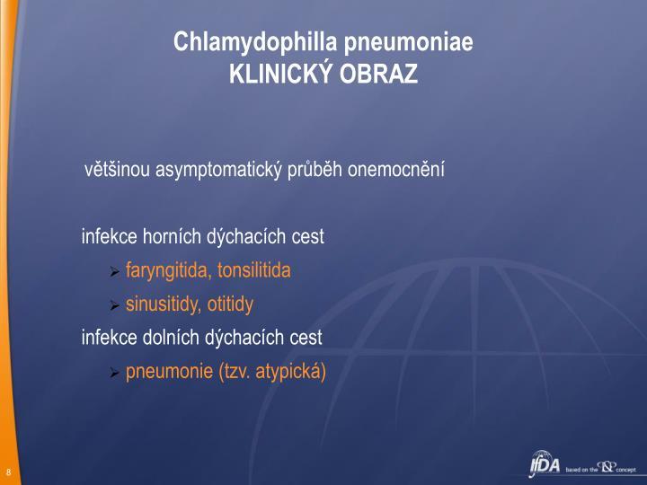 Chlamydophilla pneumoniae
