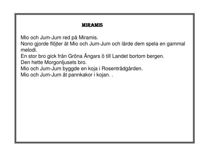 MIRAMIS