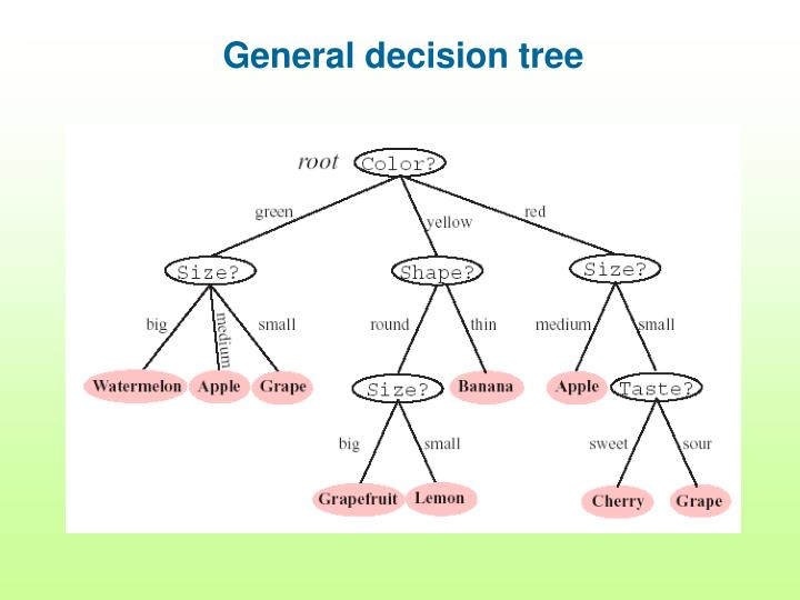 General decision tree