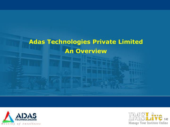 Adas Technologies Private Limited