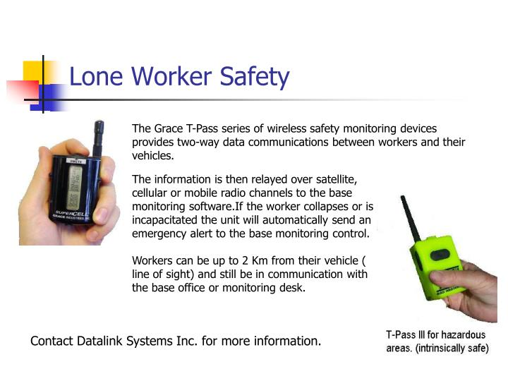 Lone Worker Safety