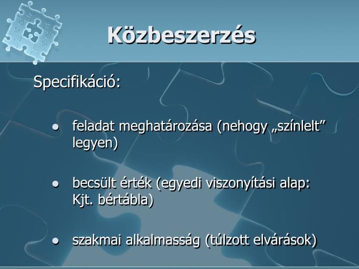 Kzbeszerzs