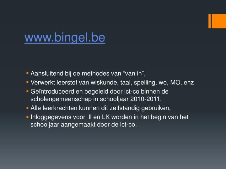 www.bingel.be
