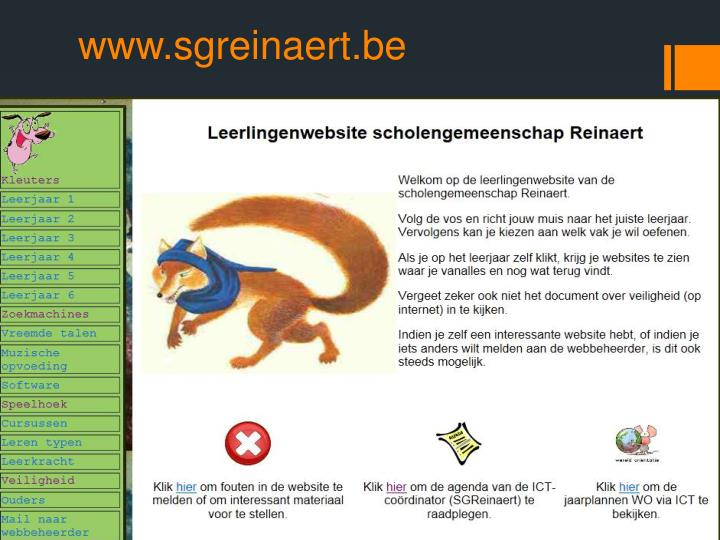 www.sgreinaert.be