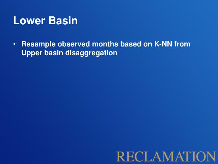 Lower Basin