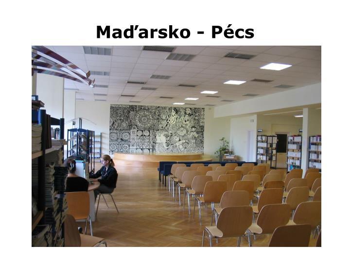 Maďarsko - Pécs