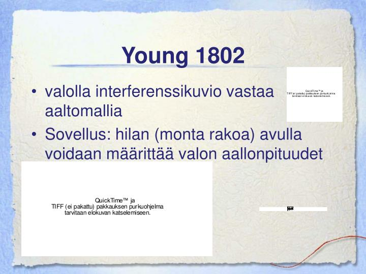 Young 1802