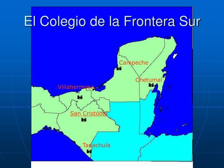 El Colegio de la Frontera Sur