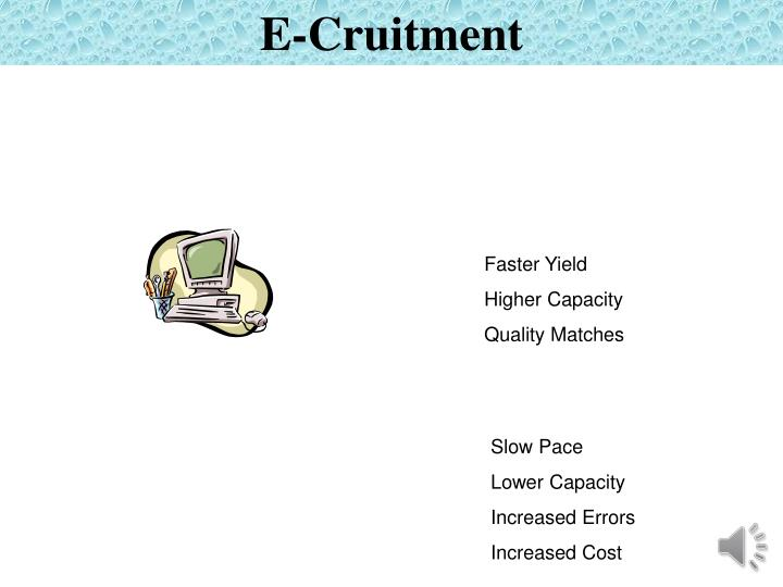 E-Cruitment