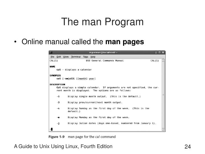 The man Program