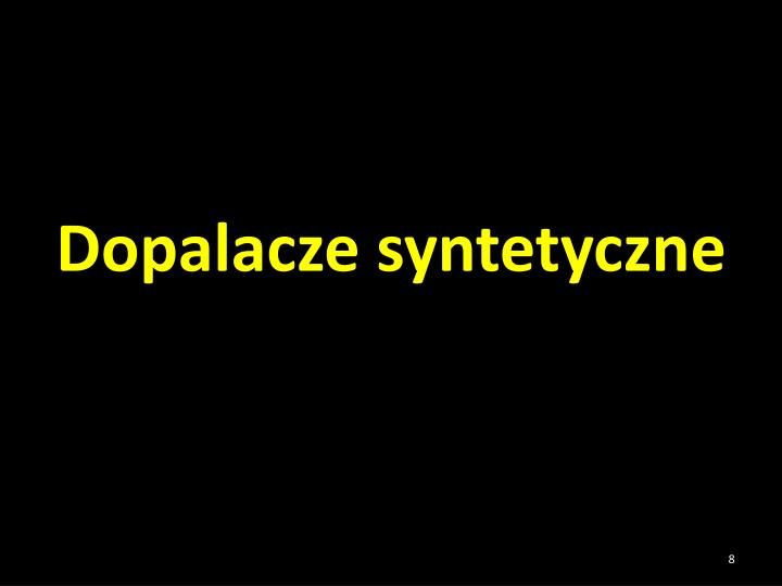 Dopalacze syntetyczne