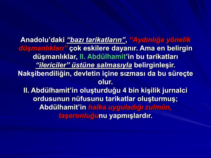 Anadolu'daki