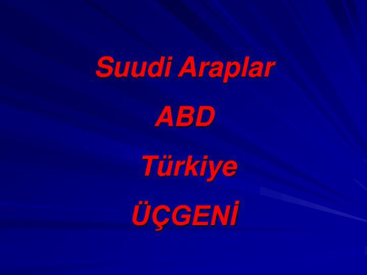 Suudi Araplar