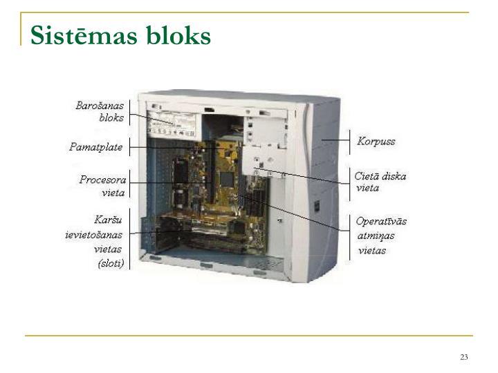 Sistēmas bloks