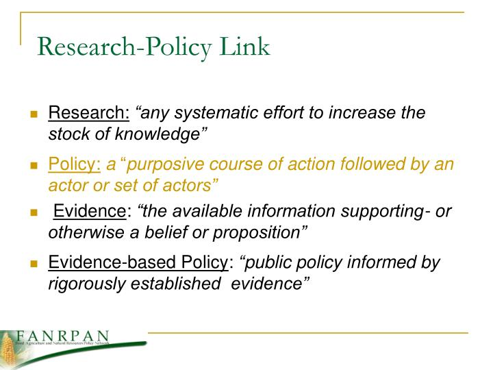 Research-Policy Link