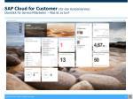 sap cloud for customer f r den kundenservice berblick f r service mitarbeiter was ist zu tun