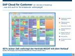 sap cloud for customer f r vertrieb marketing was sich auch im terminkalender widerspiegelt