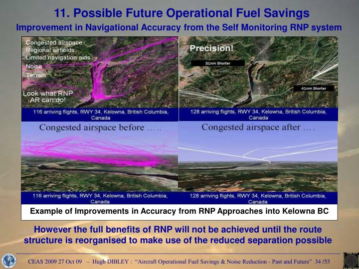 Example of Improvements in Accuracy from RNP Approaches into Kelowna BC