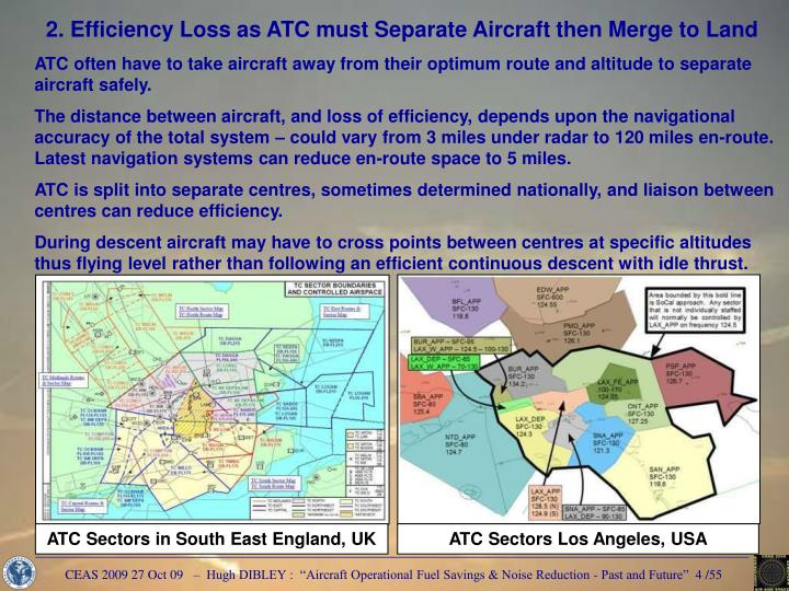 ATC Sectors Los Angeles, USA