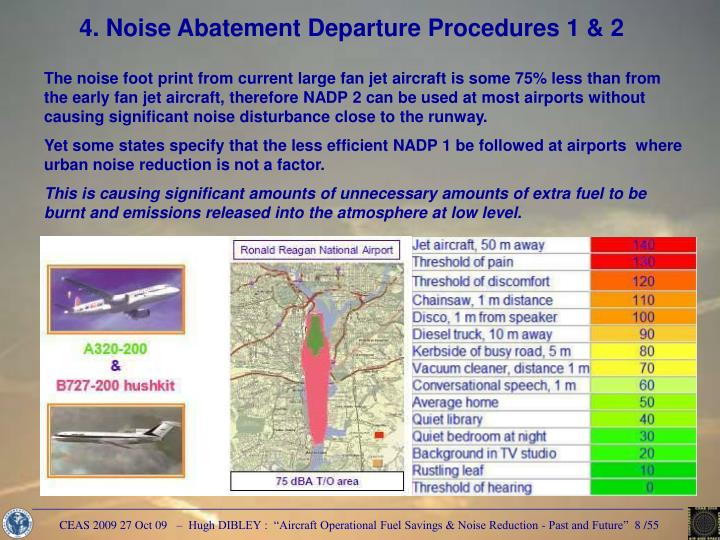4. Noise Abatement Departure Procedures 1 & 2