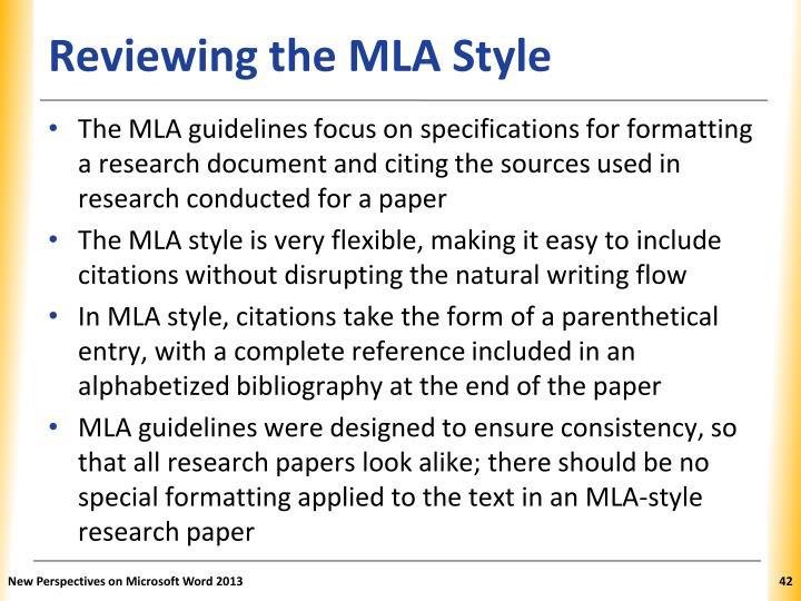research paper margin