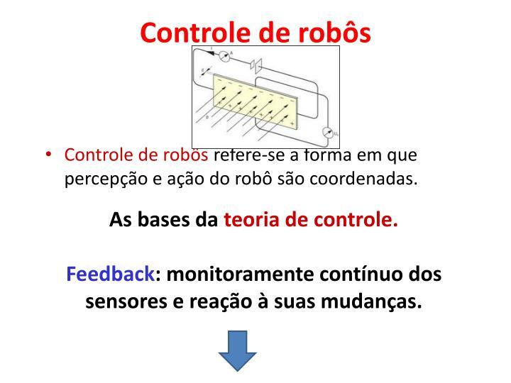 Controle de robôs