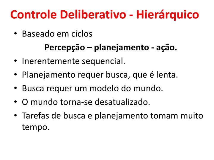 Controle Deliberativo - H