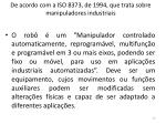 de acordo com a iso 8373 de 1994 que trata sobre manipuladores industriais