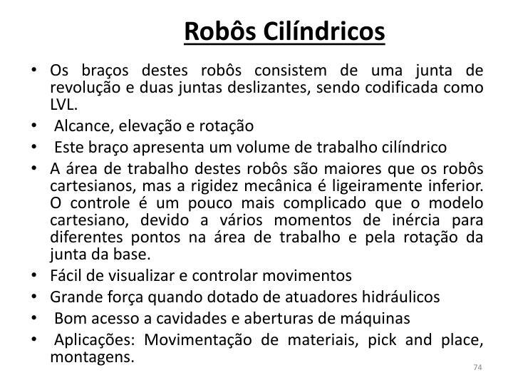 Robôs Cilíndricos