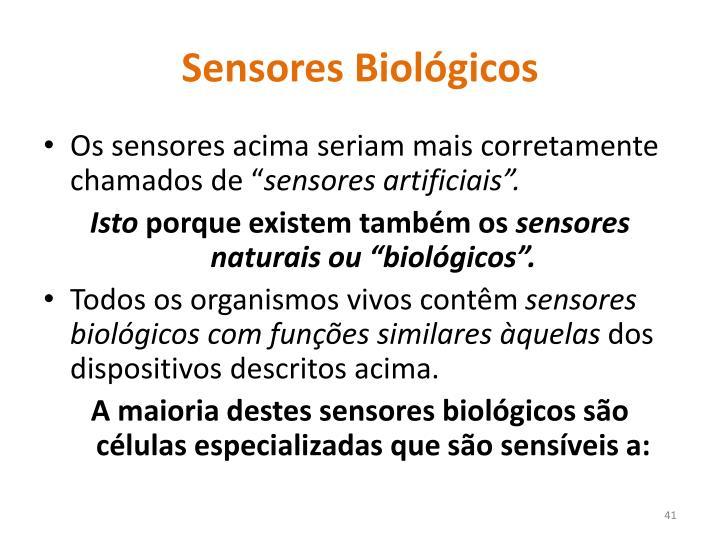 Sensores Biológicos